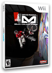 Dave Mirra BMX Challenge Wii cover (RXCE4Z)