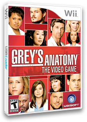 Grey's Anatomy: The Video Game Wii cover (RXLE41)
