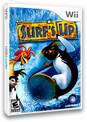 Surf's Up Wii cover (RXUE41)