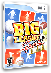 Big League Sports: Summer Wii cover (RY5E52)