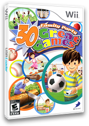 Family Party: 30 Great Games Wii cover (RZ9EG9)