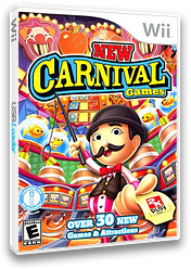 New Carnival Games Wii cover (S2CE54)