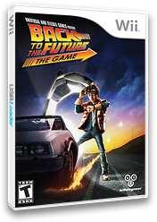 Back to the Future: The Game Wii cover (S5BETL)