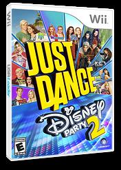 Just Dance Disney Party 2 Wii cover (S5DE41)