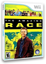 The Amazing Race Wii cover (SAGE41)