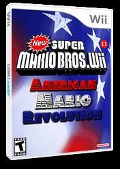 New Super Mario Bros. Wii 11 American Revolution CUSTOM cover (SAME01)