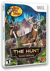 Bass Pro Shops: The Hunt - Trophy Showdown Wii cover (SANEFS)