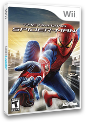 The Amazing Spider-Man Wii cover (SAZE52)