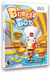 Burger Bot Wii cover (SB8EQH)