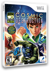 Ben 10: Ultimate Alien Cosmic Destruction Wii cover (SBJEG9)