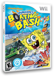SpongeBob's Boating Bash Wii cover (SBVE78)