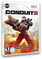Conduit 2 Wii cover (SC2E8P)