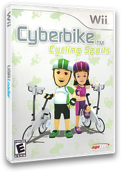 Cyberbike Cycling Sports Wii cover (SCBE5V)