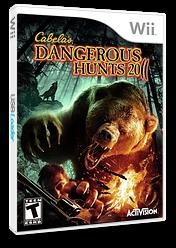 Cabela's Dangerous Hunts 2011 Wii cover (SCDE52)