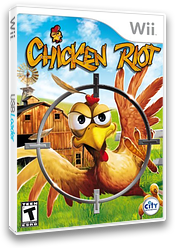Chicken Riot Wii cover (SCREJH)