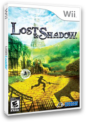 Lost in Shadow Wii cover (SDWE18)