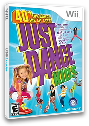 Just Dance Kids Wii cover (SDZE41)
