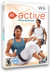 EA Sports Active: More Workouts Wii cover (SEAE69)