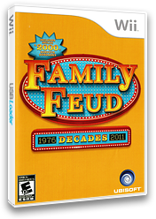 Family Feud Decades Wii cover (SFAE41)