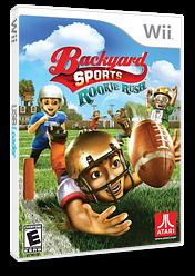 backyard sports football rookie rush wii cover sfbe70