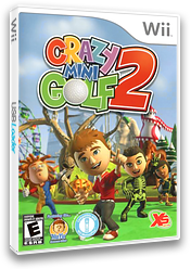 Crazy Mini Golf 2 Wii cover (SG2EFS)