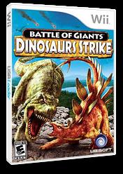 Battle of Giants: Dinosaurs Strike Wii cover (SGXE41)