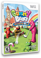 Gummy Bears Mini Golf Wii cover (SGYESZ)
