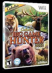 Cabela's Big Game Hunter 2012 Wii cover (SH6E52)
