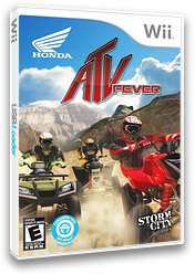 Honda ATV Fever Wii cover (SH7ESZ)