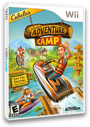 Cabela's Adventure Camp Wii cover (SH8E52)