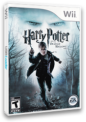 Harry Potter and the Deathly Hallows, Part 1 Wii cover (SHHE69)