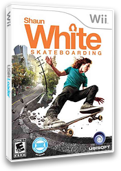 Shaun White Skateboarding Wii cover (SHNE41)