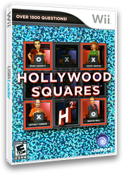 Hollywood Squares Wii cover (SHWE41)