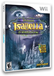 Princess Isabella: A Witch's Curse Wii cover (SISENR)