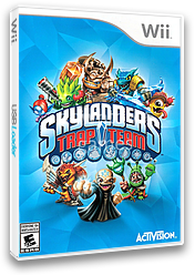Skylanders: Trap Team Wii cover (SK8E52)