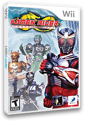 Kamen Rider Dragon Knight Wii cover (SKREG9)
