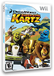 DreamWorks Super Star Kartz Wii cover (SKZE52)
