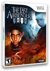 The Last Airbender Wii cover (SLAE78)
