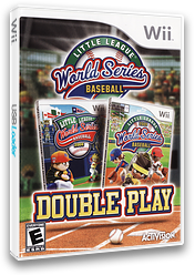 Little League World Series Baseball: Double Play Wii cover (SLIE52)