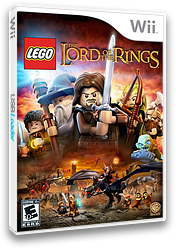 LEGO The Lord of the Rings Wii cover (SLREWR)