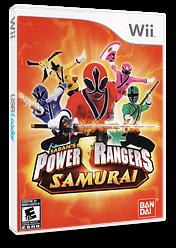 Power Rangers Samurai Wii cover (SM5EAF)