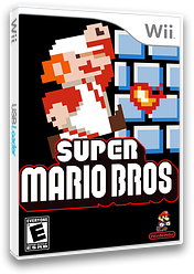 New Super Mario Remake CUSTOM cover (SMNE02)