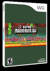 New Super Mario Bros. Wii 4 CUSTOM cover (SMNE11)