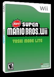 New Super Mario Bros. Wii: Yoshi Mode Lite CUSTOM cover (SMNE42)