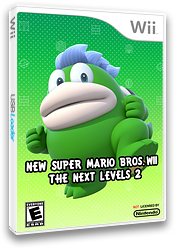 New Super Mario Bros. Wii - The Next Levels 2 CUSTOM cover (SMNE54)