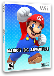Mario's Big Adventure CUSTOM cover (SMNE57)