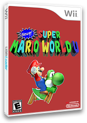Newer Super Mario World U CUSTOM cover (SMWE01)