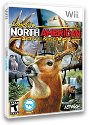 Cabela's North American Adventures 2011 Wii cover (SNAE52)