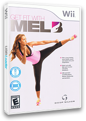 Get Fit with Mel B Wii cover (SNGEJJ)