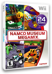 Namco Museum Megamix Wii cover (SNMEAF)